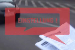 Video: Einstellung!